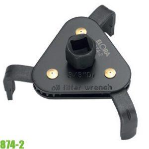 874-2 Cảo lọc dầu nhớt đường kính 65-120mm, 3 chấu