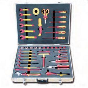 TT7504 Bộ dụng cụ cách điện 41 chi tiết, thương hiệu TITAN