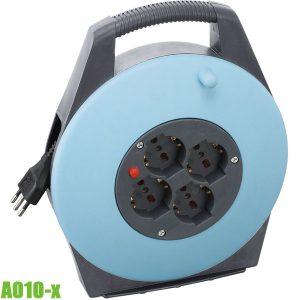 A010-x Ổ cắm điện 10-20m, nhựa PVC, chuẩn EN61242