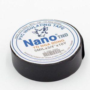 Băng keo điện đen Nano 10Y