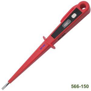 566-150 Bút thử điện 150mm, VDE 1000V, loại bỏ túi áo, hạ thế.