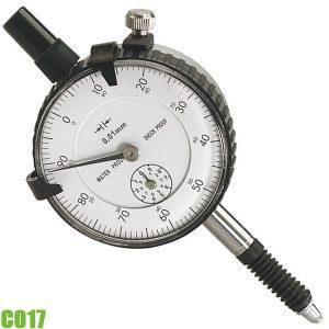 C017 Đồng hồ so cơ, độ chính xác 0,015 mm. Chuẩn DIN 878