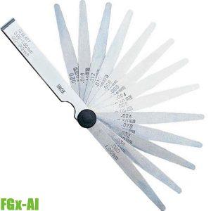 FGx-AI Thước căn lá 0.05 - 1.00 mm, dài 100 mm. FERVI
