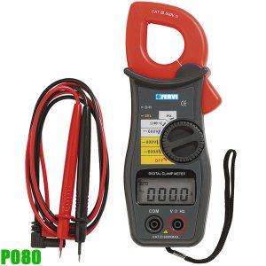 P080 Đồng hồ ampere kìm, đo điện áp, dòng điện, Fervi Italia