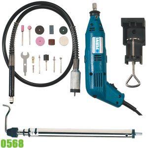 0568 Bộ dụng cụ máy khoan cắt đa năng FERVI Italia