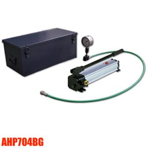 Bộ bơm tay thủy lực 1000 bar AHP704BG Powerram Taiwan