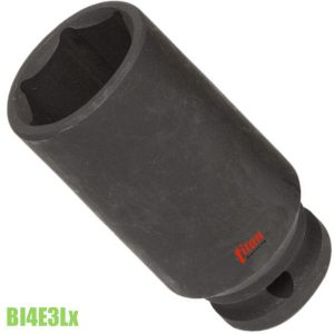 BI4E3Lx đầu chụp đen vuông 1/2 inch impact socket FERVI