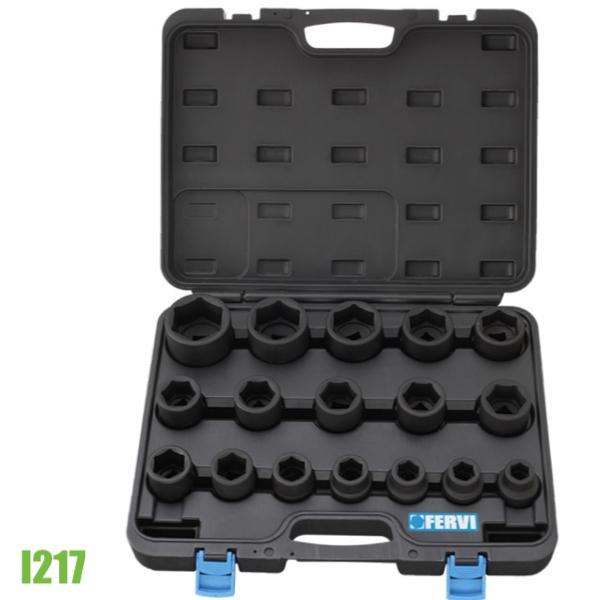I217 bộ tuýp tiêu chuẩn hệ mét 17 chi tiết