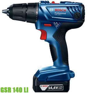 GSR 140 LI Máy khoan vặn vít dùng pin Bosch 1700 vòng/phút