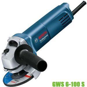 GWS 6-100 S Máy mài góc loại cầm tay Bosch, đường kính đĩa 100mm