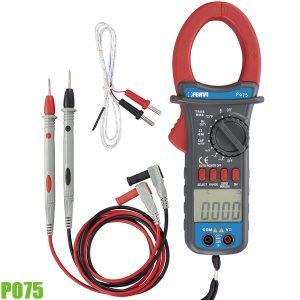 P075 Ampere kẹp đo cường độ dòng điện, điện áp, điện trở