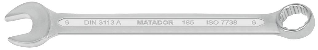 0185 0300 cờ lê vòng miệng hệ mét 30mm, hàm nghiêng 15 độ