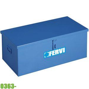 0363- Thùng đựng đồ, vật liệu bằng thép. FERVI Italia
