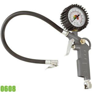 0608 Vòi bơm hơi có đồng hồ đo áp suất. FERVI Italia