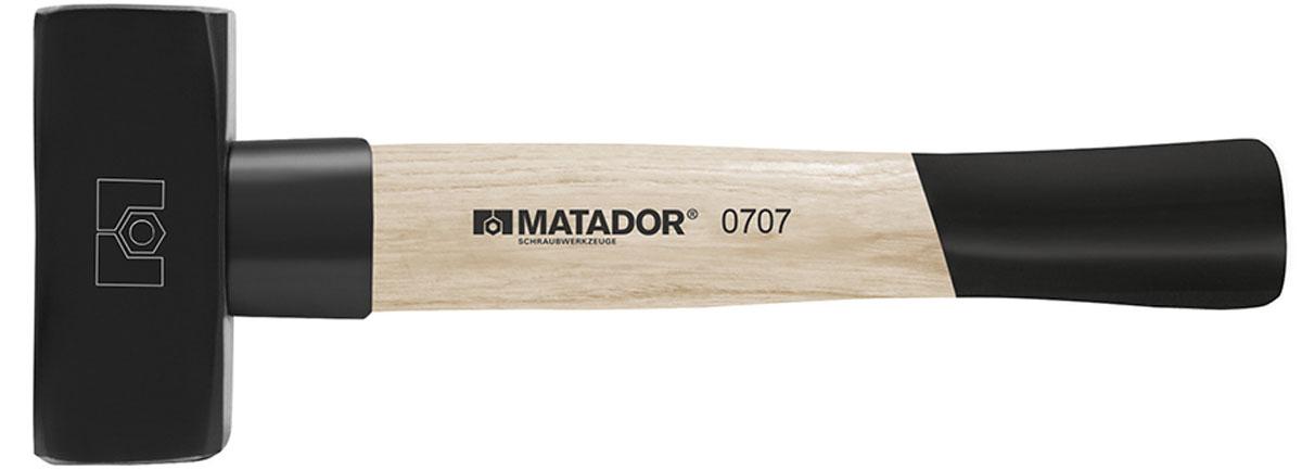 07072000 Búa sắt câm tay 2000g, dài 300mm, cán gỗ.