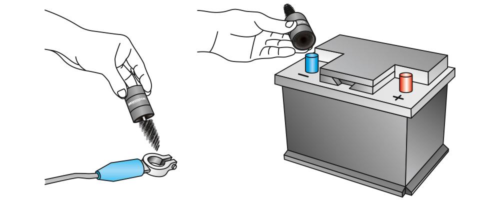 0783-0001 cọ vệ sinh điện cực bình ắc quy Matador