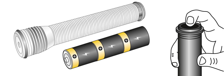 TTL087 đèn pin sửa máy vỏ độ sáng 8000lux