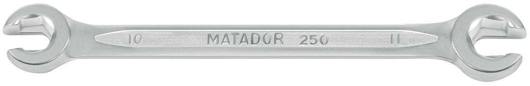 0250 0001 cờ lê thẳng 2 đầu vòng hở mở bugi ngàm 6 cạnh Matador