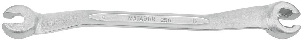 0250 0002 cờ lê chữ Z 2 đầu vòng hở mở bugi Matador