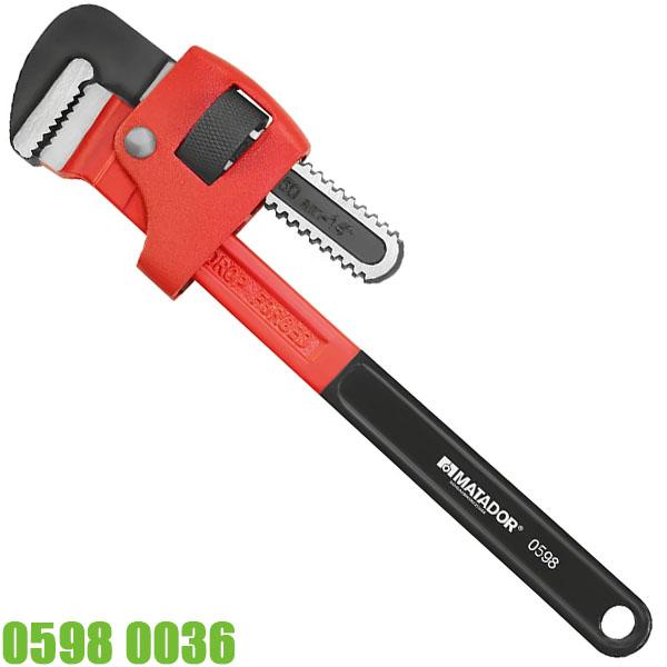 05980036 Mỏ lết răng ngàm 102mm, dài 900mm. Matador Germany