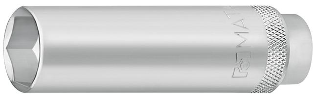 3081 Tuýp socket nối dài 65mm đầu nối 3/8 inch mở bugi