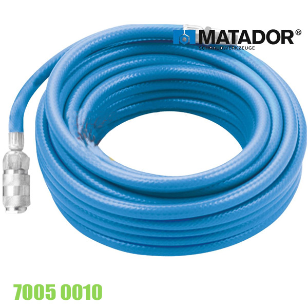 70050010 Ống khí nén bằng nhựa PU dài 20 mét, Matador