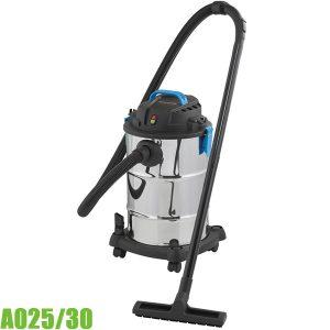 A025/30 Máy hút bụi công nghiệp, dung tích 30L. FERVI Italia