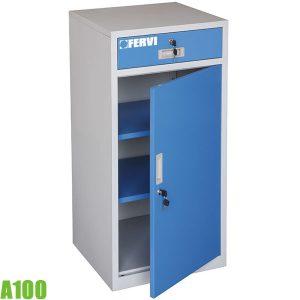 A100 Tủ đồ nghề 1 ngăn kéo, 1 cửa, 500 x 460 x 1000h mm. FERVI Italia
