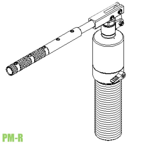 PM-R xylanh thủy lực tích hợp bơm dùng cho cảo thủy lực Powerram
