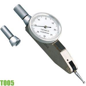 T005 Đồng hồ so chân què 0,2 mm, đường kính 32 mm. FERVI Italia