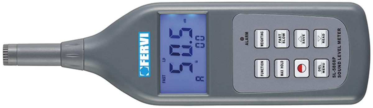 Máy đo độ ồn, cường độ âm thanh FERVI F010