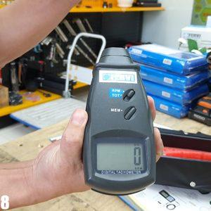 C067 Máy đo tốc độ vòng quay vỏ bằng nhựa