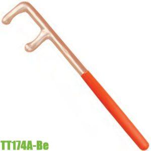 TT174A-Be Cờ lê chữ F mở van, chống cháy nổ hợp kim Cu-Be