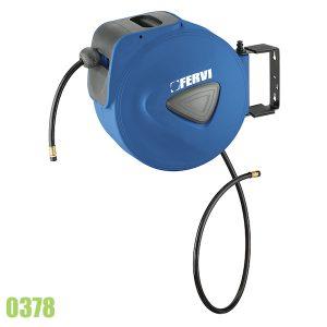 0378 cuộn dây hơi rút tự động dài 15+1m áp suất 18 bar.