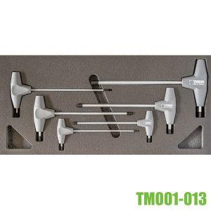 TM01-013 Bộ lục giác tay cầm chữ T cho tủ gồm 6 chi tiết