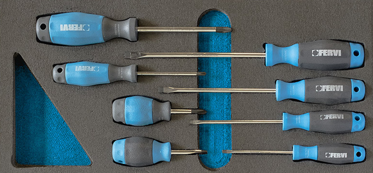 TM01-020 bộ tuốc nơ vít 8 cây dùng cho tủ
