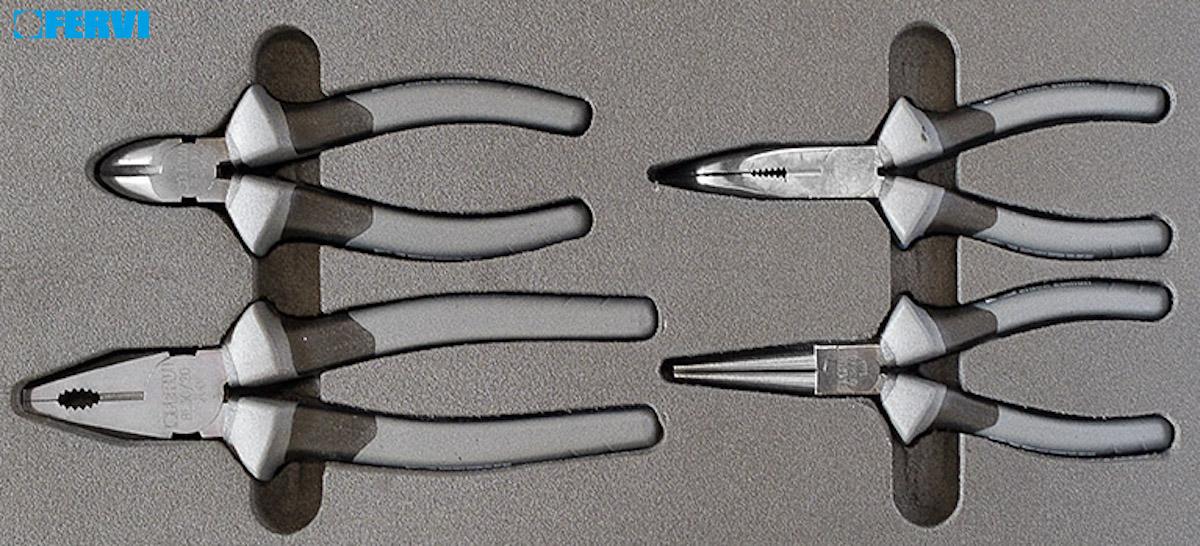 Bộ kìm đa năng gồm 4 cây cho tủ dụng cụ đồ nghề