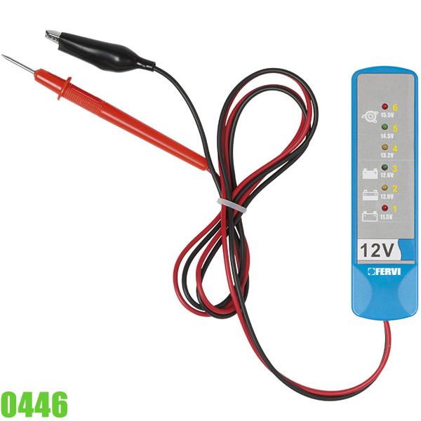 0446 Máy kiểm tra pin và hệ thống sạc FERVI Italia