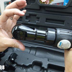 Bộ súng văn ốc đầu ngang 16 món bao gồm các loại socket và đầu nối đầu chuyển