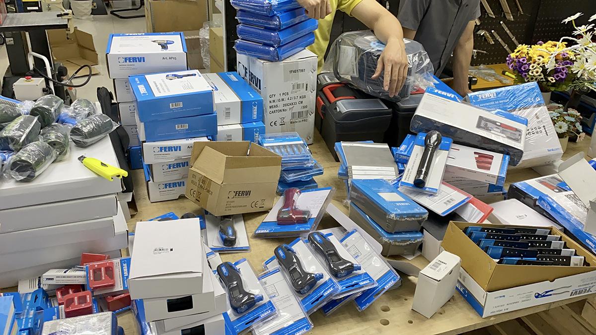 Đập hộp 35 mặt hàng đồ nghề, dụng cụ đo FERVI – Italia về tháng 10/2020