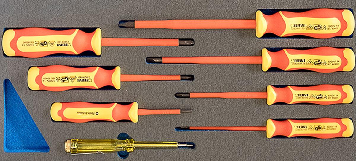 TM01/026 Bộ tuốc nơ vít cách điện 8 mó