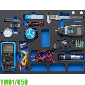 TM01/050 Bộ thiết bị đo 9 chi tiết cho tủ đồ nghề FERVI Italia