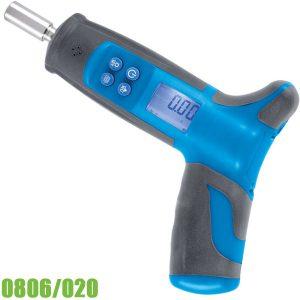 """0806/020 Tua vít lực điện tử 0 ÷ 20 Nm, 1/4"""", dài 175mm FERVI Italia"""