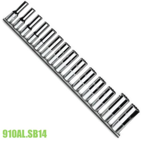 910ALSB14 bộ đầu khẩu 14 chi tiết từ 8 đến 22mm vuông 3/8 inch.