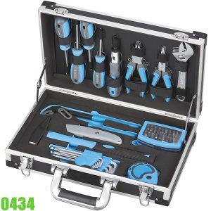 0434 Bộ dụng cụ bảo dưỡng 54 món đựng trong vali FERVI Italia