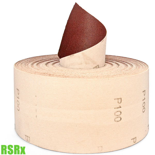 RSRx Giấy nhám nhôm ôxít cuộn tròn 115 x 50mm FERVI Italia