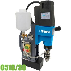 0518/30 Máy khoan từ ø16 mm, 230 V 50 Hz 1.1 kW FERVI Italia