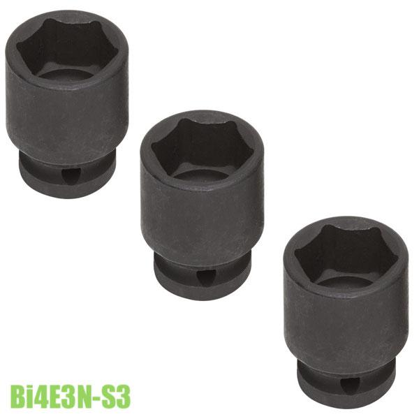 BI4E2N-S3 bộ impact socket le 35-41-46mm đầu vuông 3/4 inch