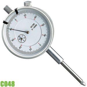 C048 Đồng hồ so, thang đo 0- 30 mm FERVI Italia