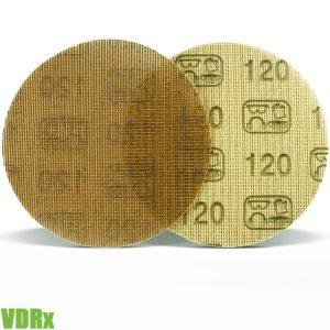 VDRx Giấy nhám lưới tròn 150mm, mật độ 80-600 hạt FERVI Italia